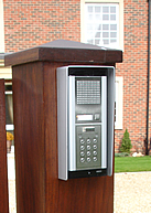 Intercom systems installed by Ironwood Gates Limited