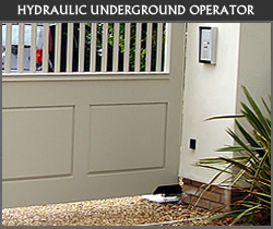 Underground gate automation from Ironwood Gates