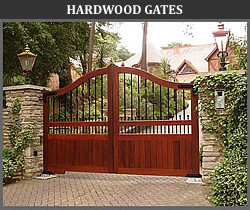 Hardwood gates from Ironwood Gates Limited