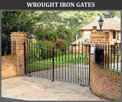 Wrought Iron Gates from Ironwood Gates Ltd